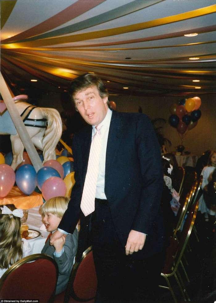Уютный и домашний Дональд Трамп на снимках из случайно всплывшего семейного архива