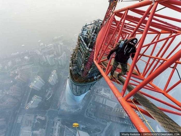 Нелегальный взгляд на грандиозные постройки мира
