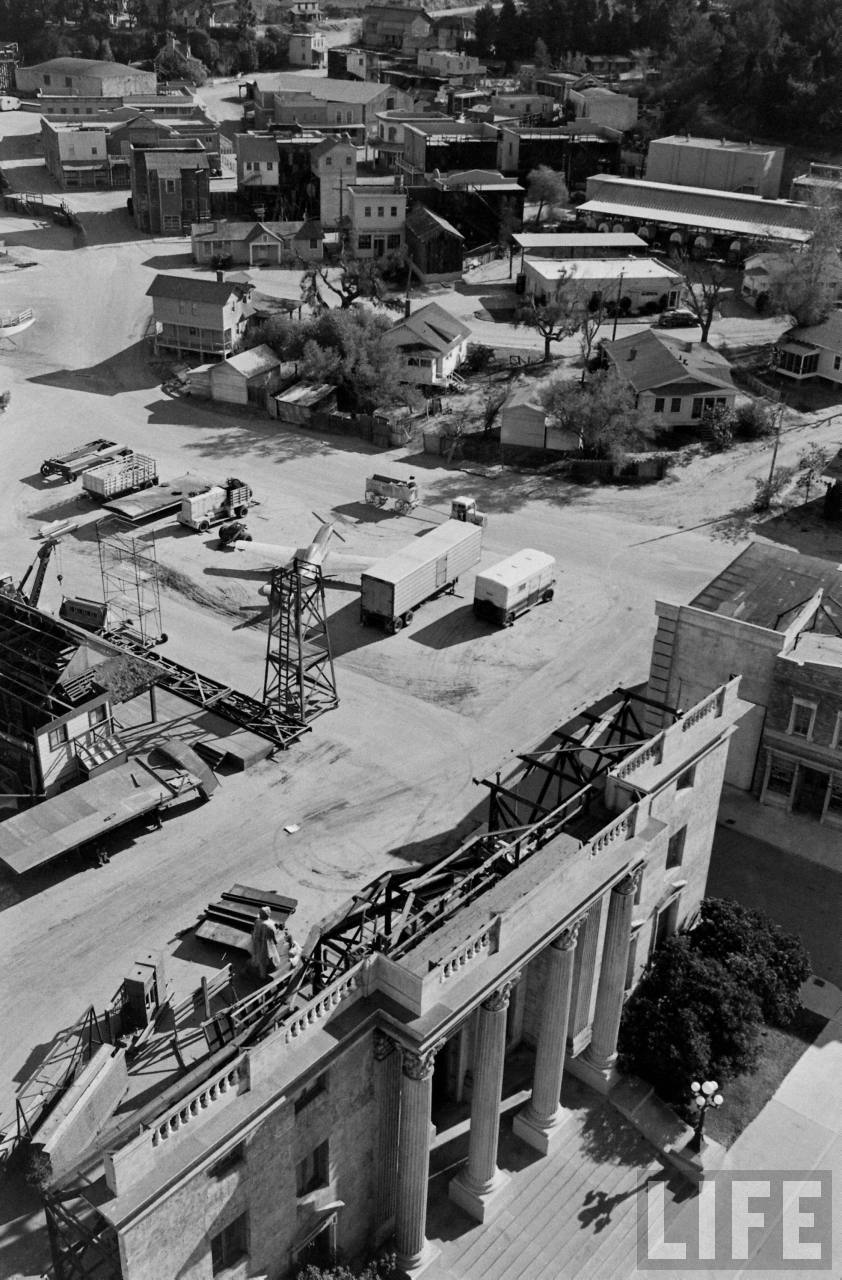Изнанка фальшивого города киностудии Universal Pictures