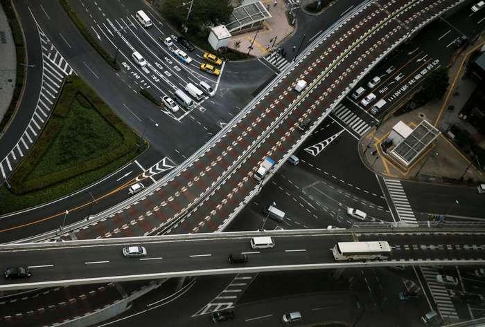 Кадры повседневной жизни в Японии