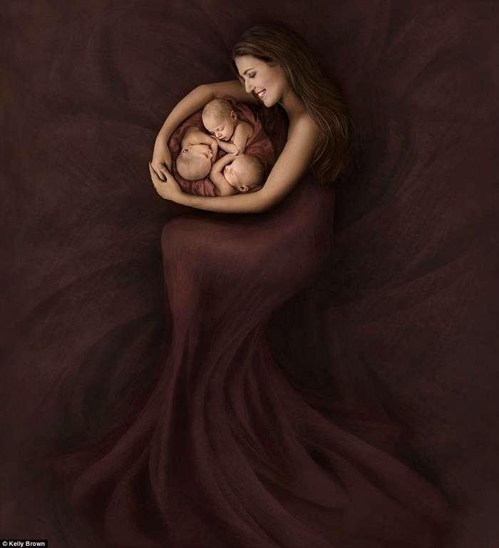 Австралийские фотографы воплотили чудо материнской любви
