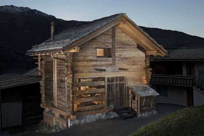 Уютный домик в двухвековом амбаре