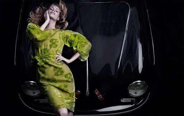 Портреты знаменитостей и модные фотографии Дэвиса Фактора