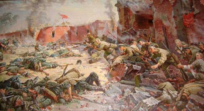 О подвиге защитников Брестской крепости