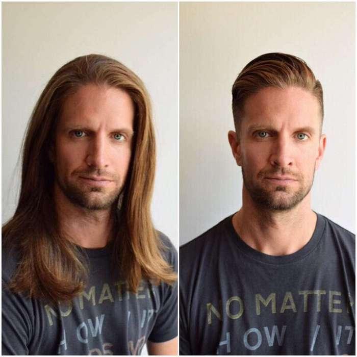 13 примеров того, как одна лишь прическа может преобразить мужчину