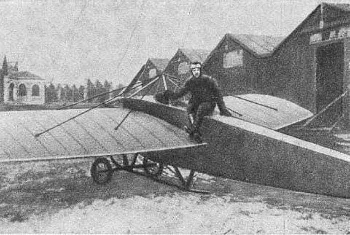 Как появилась «мертвая петля»: высший пилотаж Петра Нестерова
