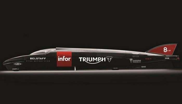Cамый быстрый мотоцикл от Triumph: невероятная ракета на двух колёсах