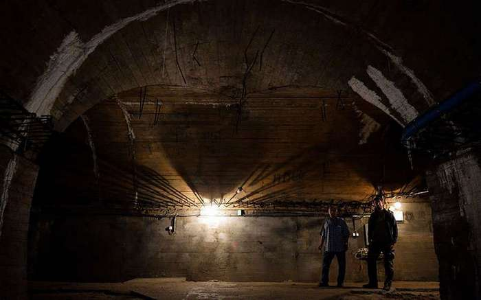 nazi gold A tunnel that is part of nazi underground complex on october 20, 2015 in walbrzych, poland the mysterious underground nazi city riese where it is alleged the legendary nazi gold train is hidden.