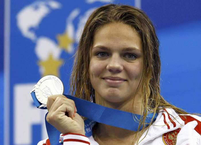 Юлия завоевала не только медаль, но и мое сердце