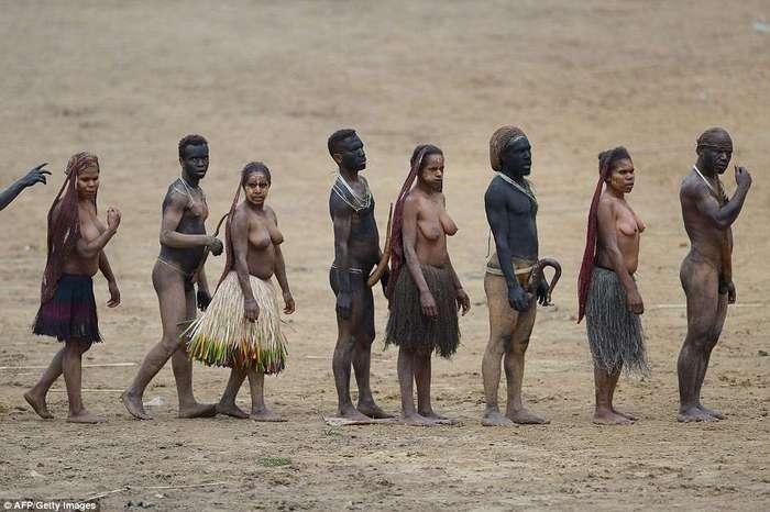 Копья, племенная музыка и футляры для гениталий: как прошел ежегодный фестиваль папуасов в Индонезии