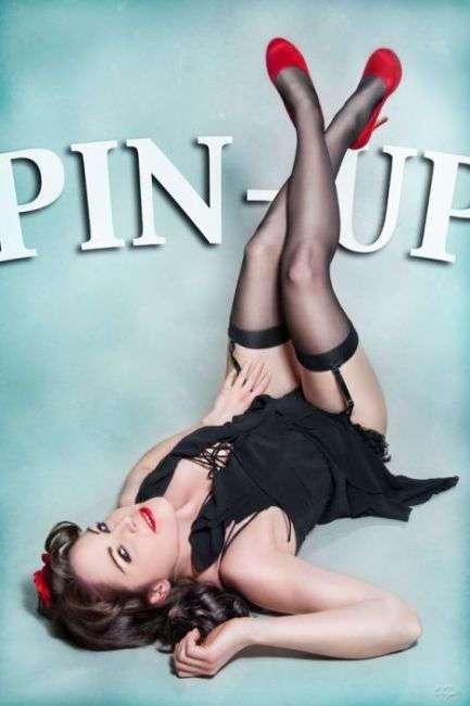 Подборка фотографий девушек в стиле Pin Up.