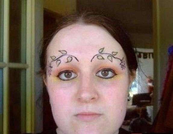 Ах эти женские брови
