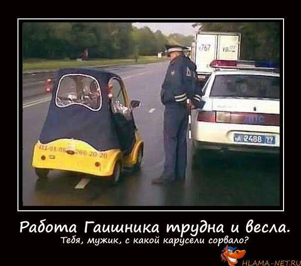 Приколы водителей-автолюбителей-Водители шутят