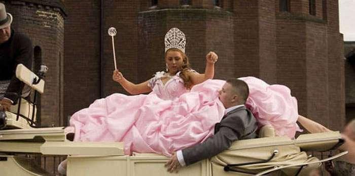 Потрясающие свадебные платья