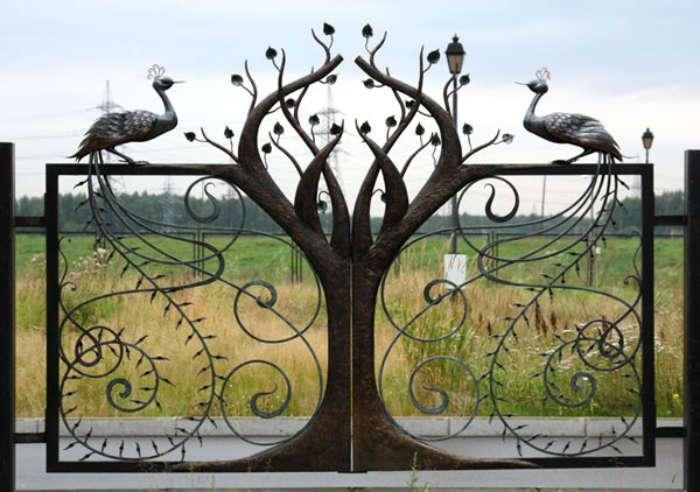 Идеи удивительных, красивых и поразительных ворот и калиток