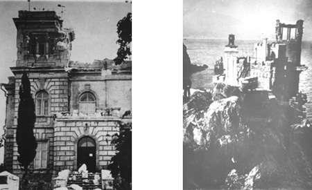 История замка на скале