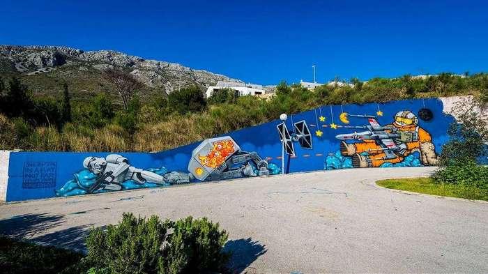 Стрит-арт в Хорватии