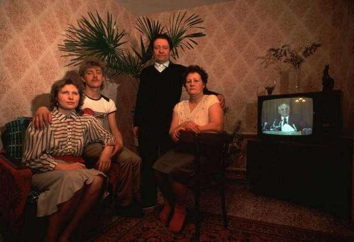 Портреты советских людей периода заката СССР