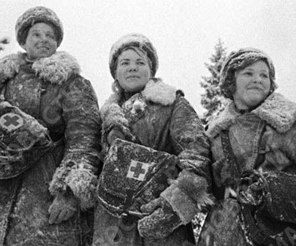Фото женщин , Великая Отечественная война
