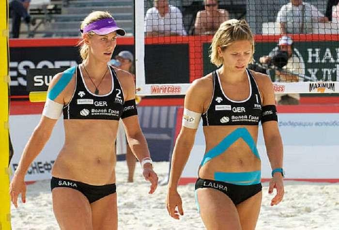 Знаете зачем спортсмены наклеивают на себя эти ленты ?