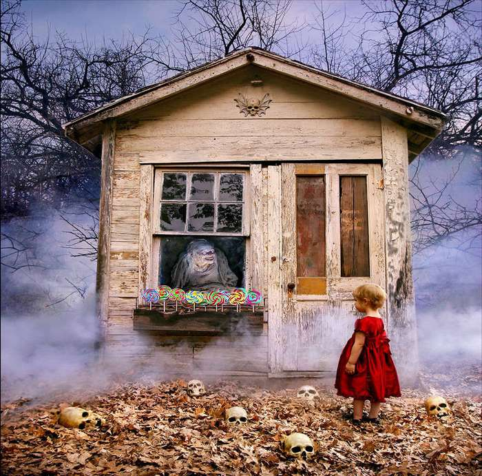 Фотограф создает фото в жанре