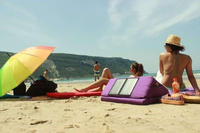 Матрас-термос с солнечной батареей