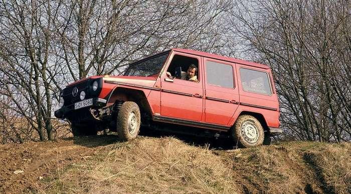 Эволюция Mercedes-Benz Gelandewagen