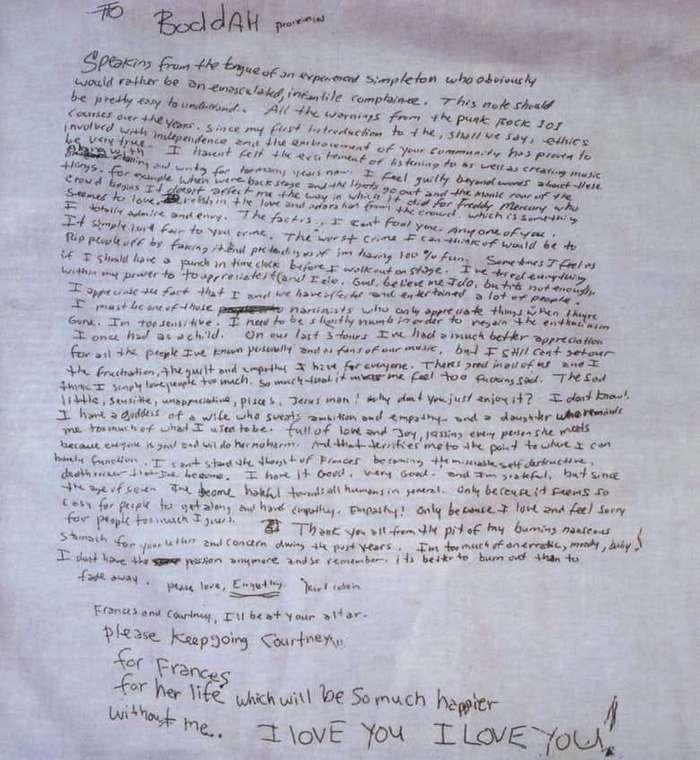 15 фактов, которых вы не знали о Курте Кобейне