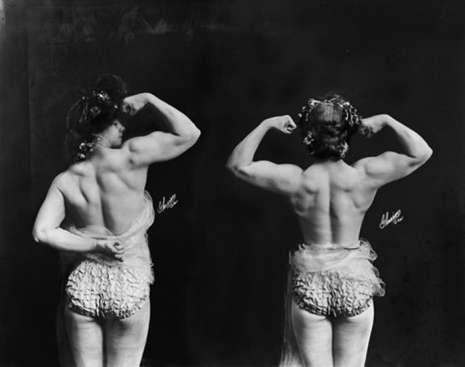 Как выглядели первые женщины-бодибилдеры начала XX века