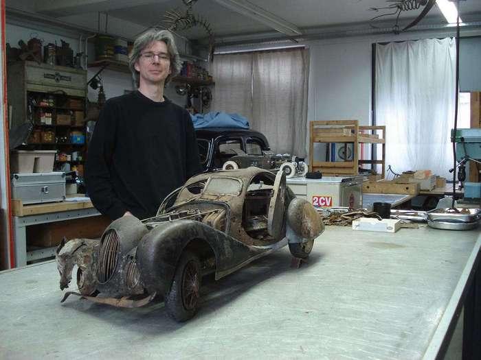 Ржавые скульптуры Мартина Хёкешовена