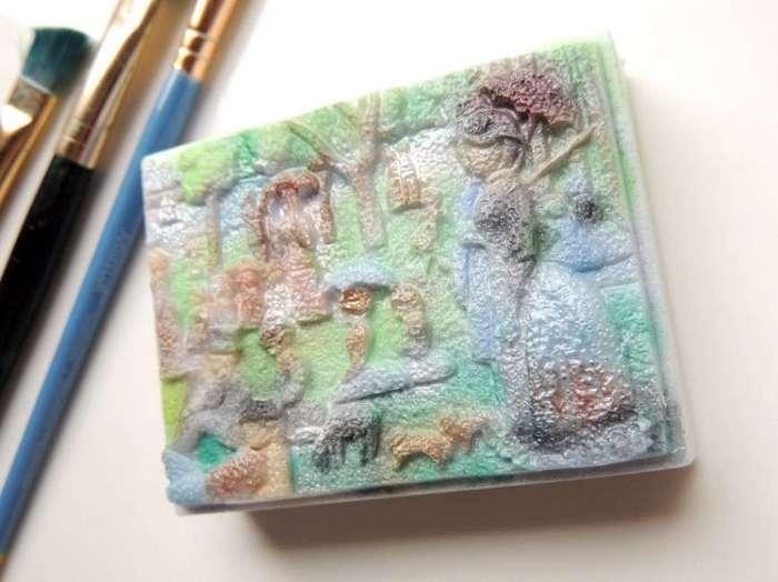 Креативное мыло ручной работы