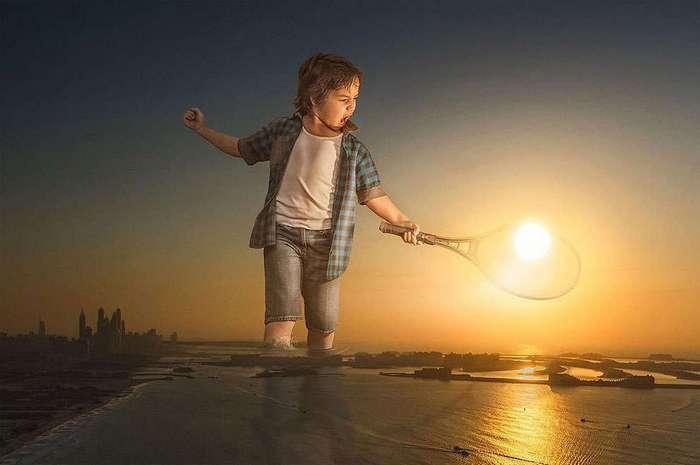 Дети - это целый мир. Адриан Соммелинг