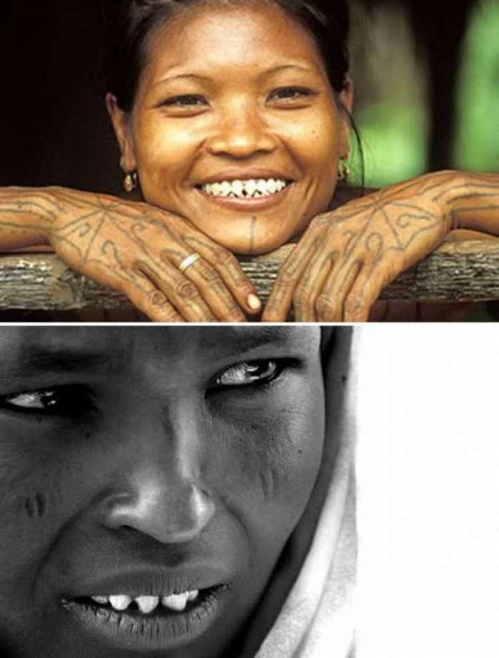 Экстремальные модификации тел в разных культурах