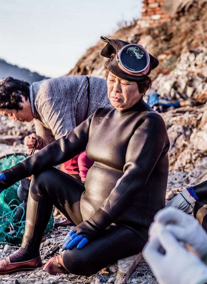 Корейские русалки: последнее поколение Хэнё