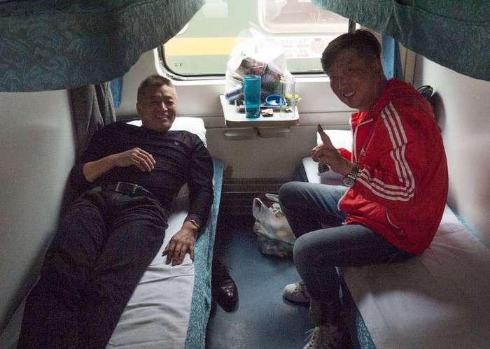 Плацкартные вагоны: китайские и русские