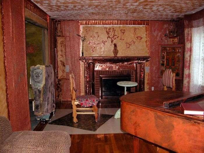 Американский домик с оригинальным интерьером