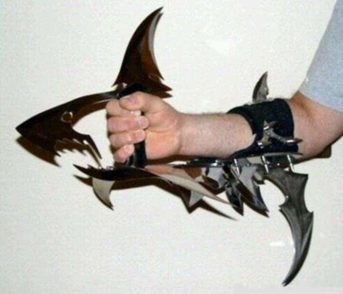Самые странные ножи невероятного дизайна, созданные за последнее время