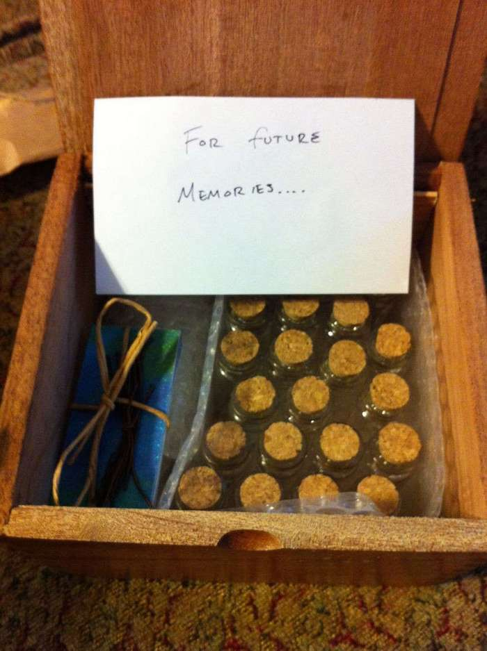 Оригинальный свадебный подарок, который сделал мужчина для своей возлюбленной-поттероманки