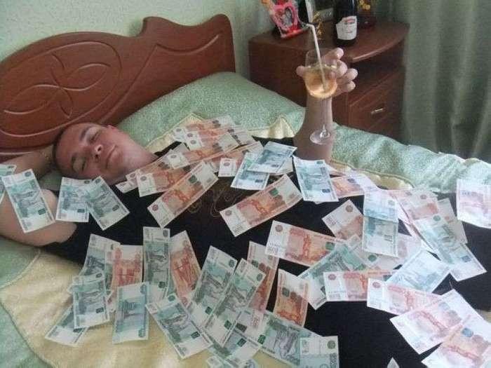 Богачи из социальных сетей