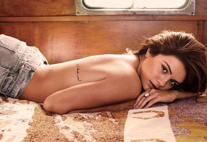 Селена Гомес украшает журнал GQ