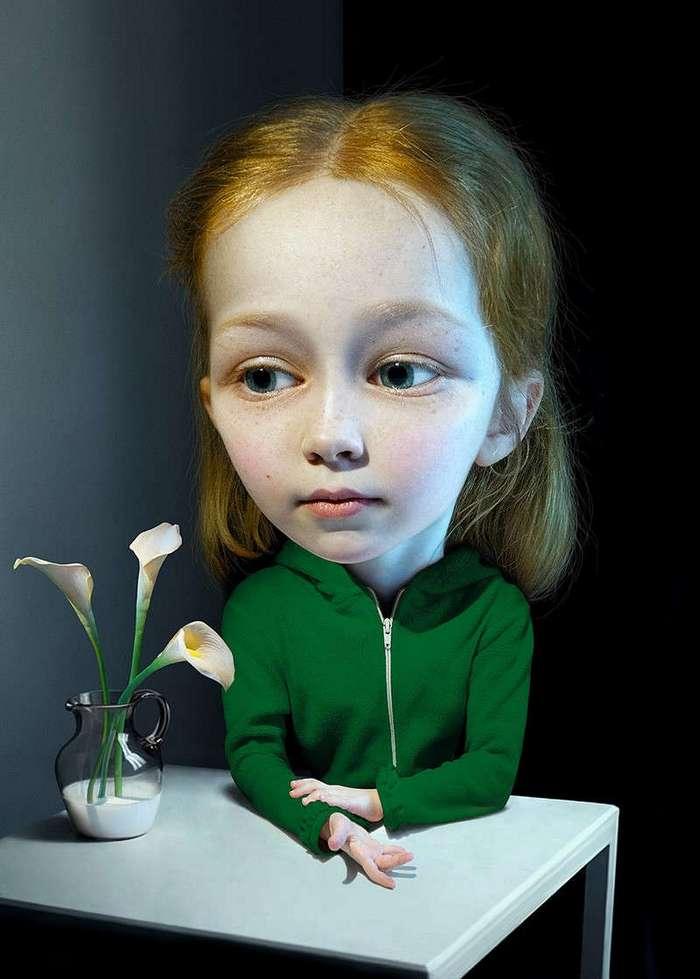 Удивительные портреты от Алексея Соверткова