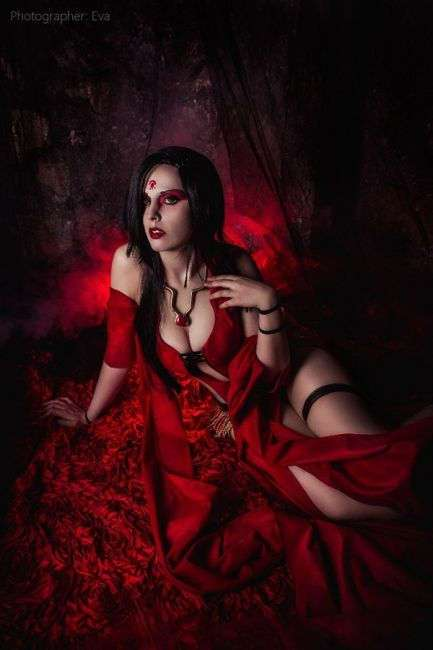Косплеер: Елена Самойлова, фотограф: ЕVA - Cosplay-photo