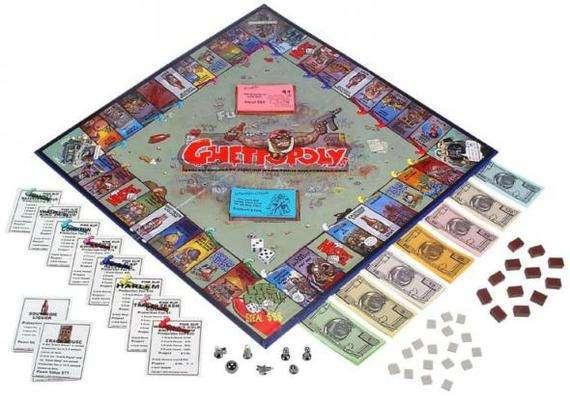 «Геттополия»: 5 запрещённых настольных игр, посвящённых порокам общества