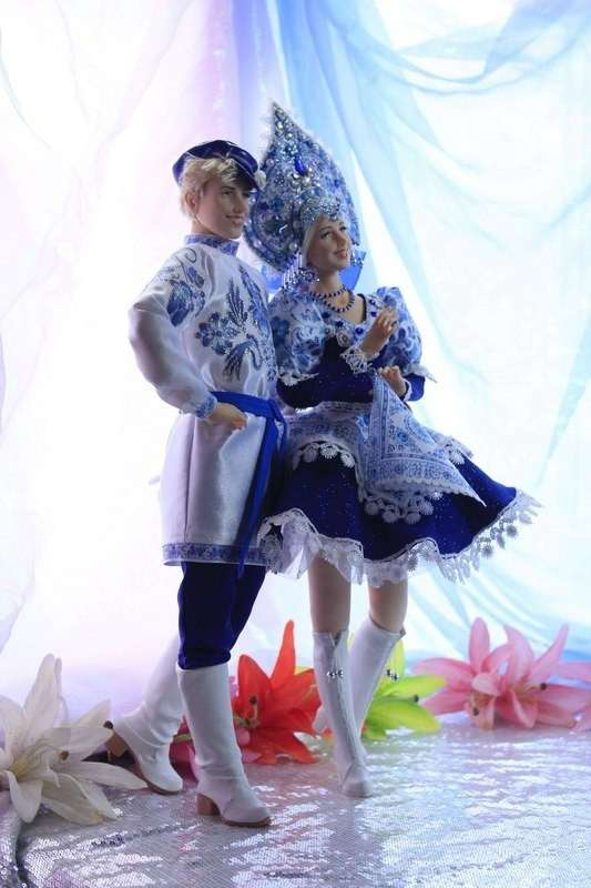Наш ответ Барби: Куклы ручной работы Ларисы Исаевой