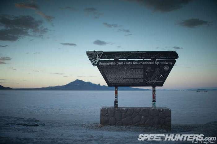 Храм скорости: Солончаки Бонневилля