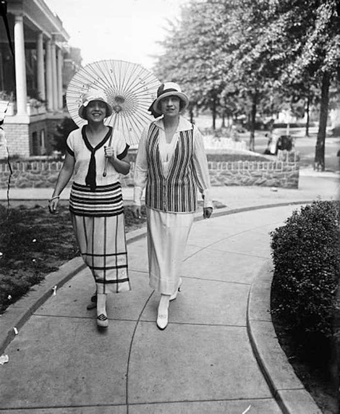 Так выглядели и одевались девушки 20-х