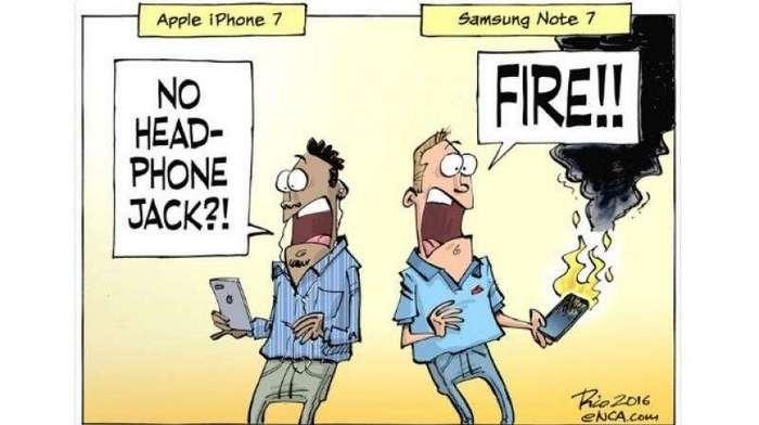 20 смешных картинок о самой взрывоопасной новинке года: Galaxy Note 7