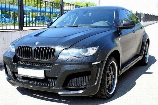Кожаный BMW X6 в Москве