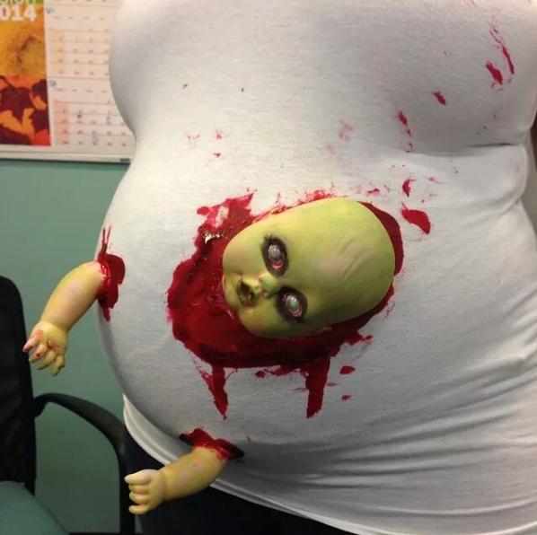 19 костюмов на Хэллоуин, которые понравятся всем будущим мамочкам и не только