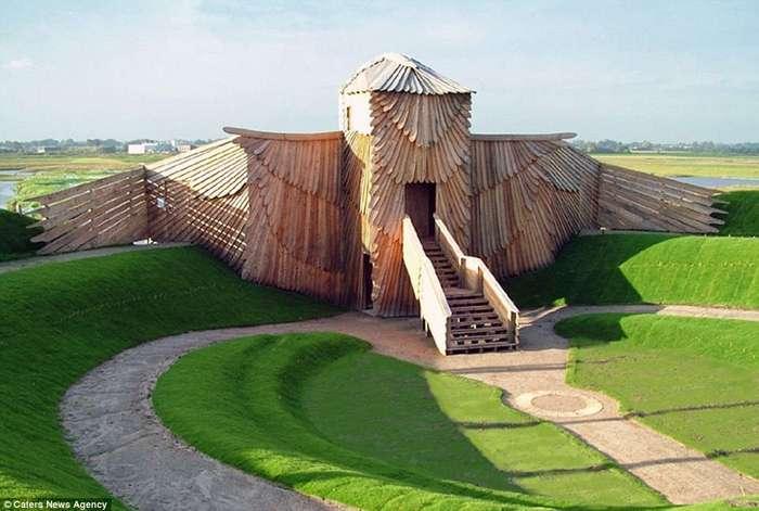 Дом-слон и другие здания в виде животных по всему миру